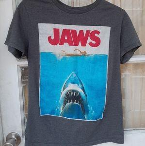 JAWS The Movie Womens TShirt Sz S